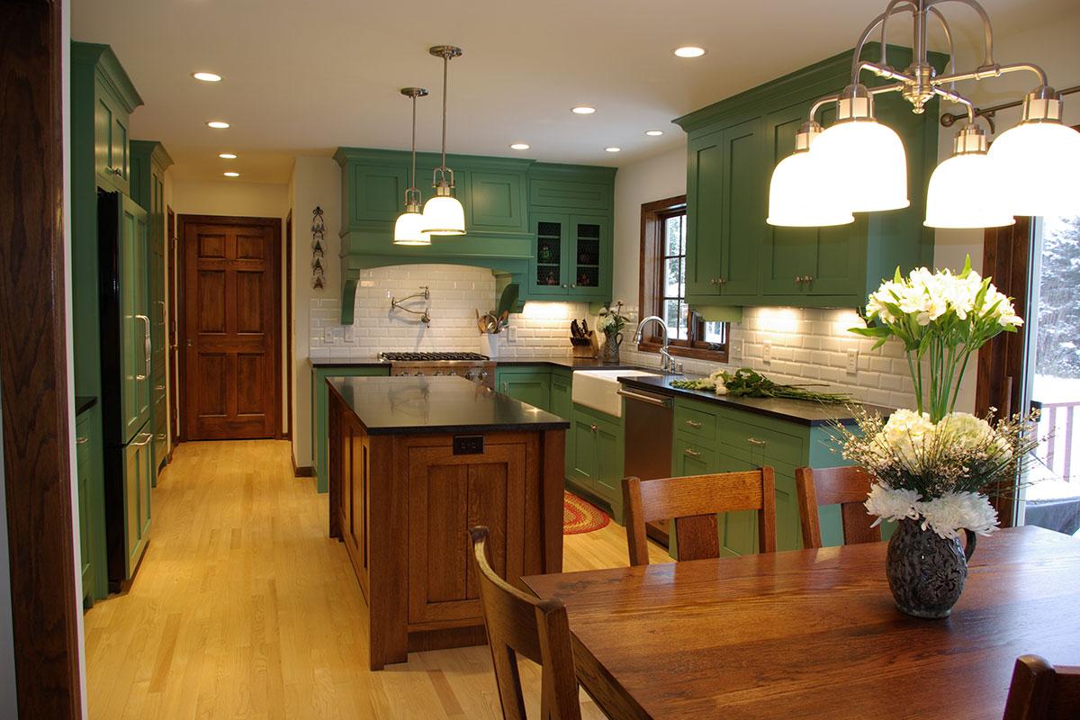 Cottonwood renovation highland builders for Remodel 80s kitchen